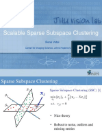 CVPR16 Tutorial Subspace Clustering Scalable SSC Rene