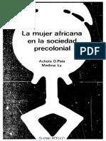 Pala La mujer africana en la sociedad pre colonial.pdf