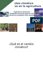 Cambio Climatico y Agricultura-presentacion