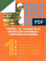 Guia Control de Calidad en La Producción de Muebles y Carpinteria en Madera