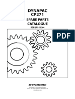cp271  Dynapac Parts Manual