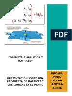 Geometría Analítica y Matrices