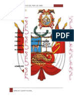 La Constitución Política Del Perú de 1860