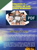 Derechos y Obligaciones de Las Relac. Huma.