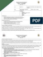 Formato Plan Bimestral Primaria 2° grado