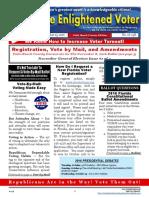 The Enlightened Voter - 16-13E September 25 Issue