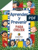 Cuaderno Aprender Prevenir Maestro bf