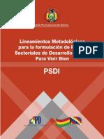Psdi Final- BOLIVIA