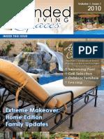 Extended Living Spaces 2010 Webzine