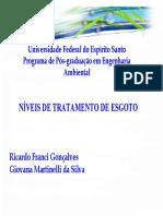 3 - Controle de Poluição Ambiental - Tratamento de Efluentes Sanitários