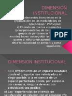 Dimension Institucionaldos