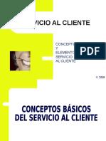 2 Conceptos Básicos y Elementos de Servicio Al Cliente