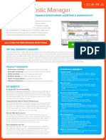 Idera Datasheet SQL Diagnostic Manager