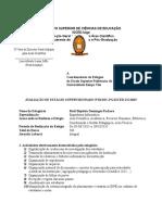 Avaliação de Estágio Supervisionado No ISCED