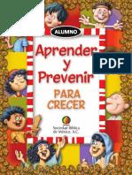 Cuaderno Aprender Prevenir Alumno