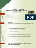 Ley de Obras Públicas y Servicios Relacionados
