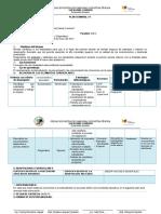 Esquema de Plan Semanal 8vo-2015