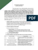Actividades Científicas Julho-Agosto 2015 Isced