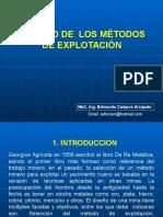 Estudio de Los Métodos de Explotacion-1