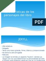 Características de Los Personajes Del Libro