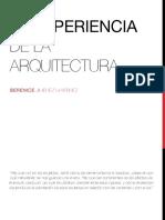 La Experiencia de La Arquitectura - Copia