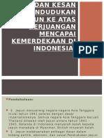 Dasar Dan Kesan Jepun di myanmar dan Indonesia
