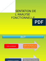 Presentation de Lanalyse Fonctionnelle
