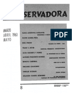 Revista Conservadora No. 8 Mar, Abr, May, 1961