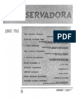 Revista Conservadora No. 9 Jun. 1961