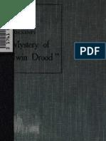 Walters, John C. Clues to Dicken's Mystery of Edwin Drood