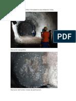 Registro Fotografico de Interior Tunel