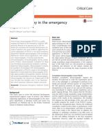 Ultrasonografia en Depto Emergencia 2016