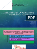Alteraciones de La Ventilación e Insuficiencia Respiratoria