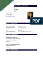 Curriculum Vitae - Edith Suarez Flores
