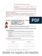 Guia de Ciencias Sociales 3º