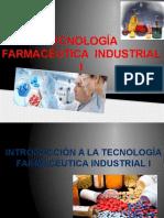 Tecnologia Farmaceutica Industrial