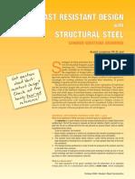 Blast Resistant Design of Rc Structures