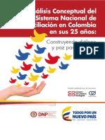 25 Años Del Sistema Nacional de Conciliación