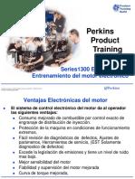 1300 EDi Series _  Electronic Engine _ Training Product  _ Spanish Training _ 111 p. _ PERKINS®