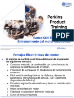 1300 EDi Series _  Electronic Engine _ Training Product  _ Spanish Training _ 111 p. _ PERKINS®