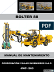 Manual de Mantenimiento Bolter 88 Jmc-263