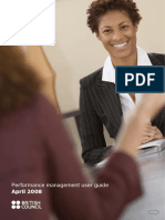 Performance Management User Guide