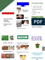 Leaflet Rematik Komunitas