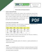 Tabela periodica apontamentos