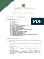 Programas e Referencias IFB