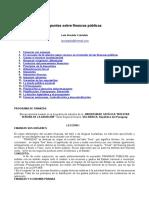 Apuntes Sobre Finanzas Publicas (1)