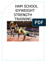Bodyweight Strength Training Manual