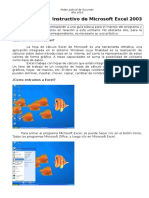 Instructivo de Microsoft Excel 2003[1]