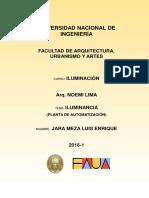 Iluminancia-planta de Automatizacion-jara Meza Luis