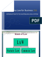 Introduction to the Australian Legal System